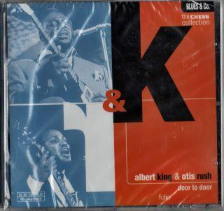 Albert King Otis Rush Door to Door New SEALED Italy CD Chess