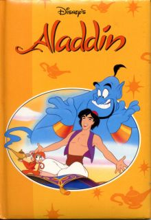 ALADDIN disney CHILDRENS book 30 PAGES full COLOR illustrations