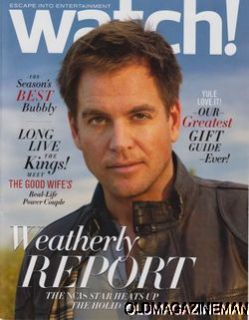 Watch Mag December 2011 Michael Weatherly NCIS Matt Lanter Matthew