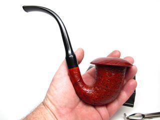 ALDO VELANI Calabash (Removable Bowl) STUNNING Estate Pipe VERY LARGE