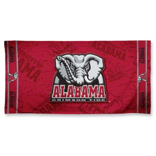 Alabama Crimson Tide 30 x 60 Fiber Reactive Beach Bath Towel New