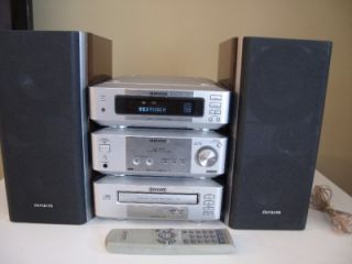 aiwa xr m99 micro stereo system remote