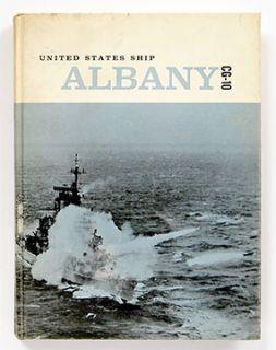 USS Albany CG 10 Mediterranean Cruise Book 1962 1964