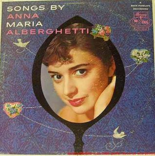 record title songs by artist anna maria alberghetti format long play
