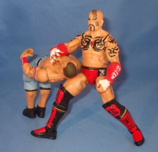 TENSAI Custom Mattel Elite Figure with Tattoos Arm Pads ALBERT A TRAIN