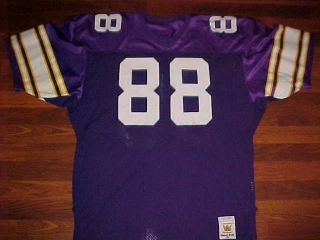 Sand Knit NFL Minnesota Vikings Alan Page 88 Jersey size 44 IN GREAT
