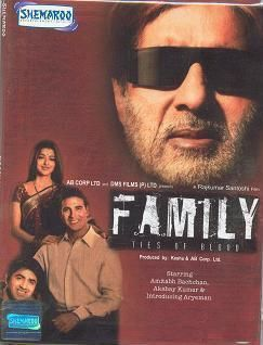 Family Amitabh Akshay Kumar Bollywood Hindi DVD