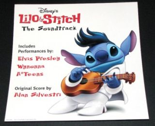 Disneys Lilo Stitch Soundtrack Promo Album Poster Flat Elvis Presley