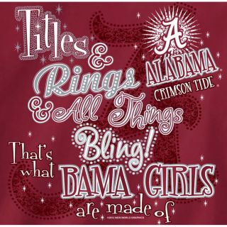 Alabama Crimson Tide Football T Shirts Titles Rings All Things Bling