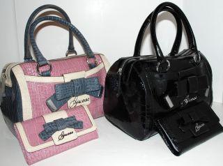 Guess Lulin Alexis Bag Purse Handbag Satchel Wallet New
