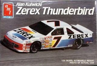 AMT 7 Alan Kulwicki Zerex Ford Thunderbird 1990