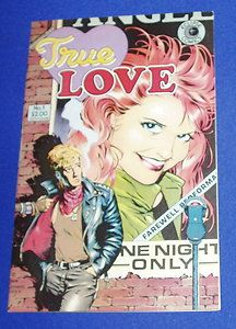True Love 1 Alex Toth Art Dave Stevens Cover Pre Code Stories