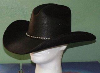 Resistol Jason Aldean Asphalt Cowboy Black Palm Hat