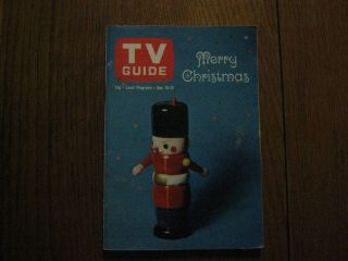 25 1965 TV Guide CHRISTMAS ISSUE ALICE PEARCE BEWITCHED SUSAN SEAFORTH