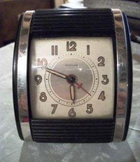 Mechanical Travalarm Westclock Alarm Clock Bakelite Canada Made