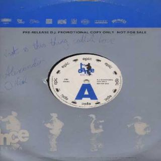 Alexander ONeal What Is This Thing Called Love UK Promo 12 Single