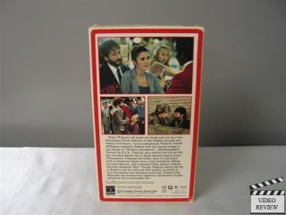 Hudson VHS Robin Williams Alejandro Rey Maria Conchita Alonso