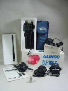 ALINCO DJ 160T HANDY AMATEUR HAM RADIO TRANSCEIVER IN ORIGINAL BOX