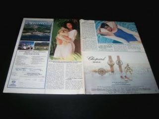 1987 Miami Vice Saundra Santiago Clippings