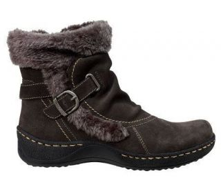 Bare Traps Womens Extreme Water Resistant Suede Ankle Boots Shoes