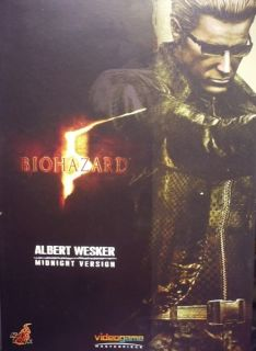 Hot Toys Hottoys Biohazard 5 Albert Wesker Midnight Ver