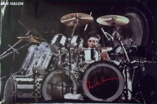 Van Halen 23x35 Alex on Drums Poster 1983 Solo