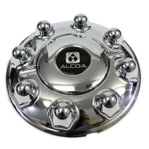 alcoa wheel 8 lug center cap chrome truck pq1102fhc