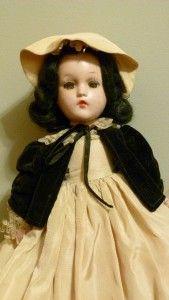 dress tag scarlet o hara madame alexander n y usa still looks good 19b