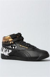 Karmaloop Reebok The Alicia Keys x Reebok Freestyle Hi Sneaker Black
