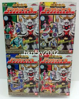 Shinken Oh Power Rangers Samurai Megazord Candy Toy Figure Set