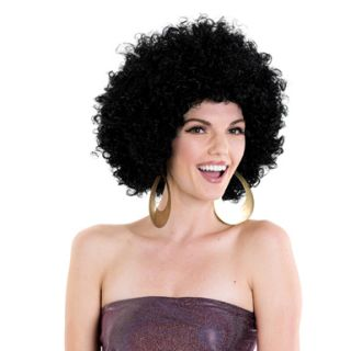 supafro black afro halloween wig