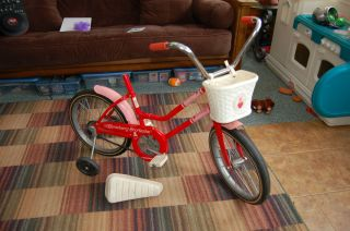 Vintage Strawberry Shortcake Bike Flying O Otasco on The Go WOW RARE