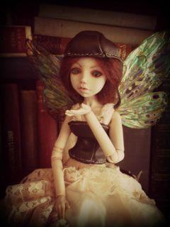 Almyra Victorian Steampunk Apothecary Fairy OOAK BJD Faery Fae Iadr