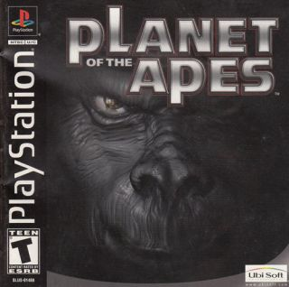 Planet of The Apes Sony PlayStation Game PS1 PS2 PS3 Black Label