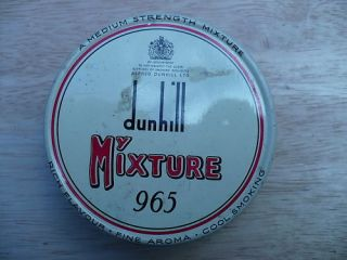 Dunhill Alfred Dunhill 965 Pipe Tobacco My Mixture