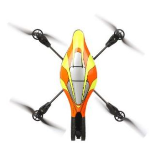 Parrot   AR.Drone Orange/Yellow Quadricopter w/ Wifi for iPhone