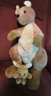 Plush Kangaroo Baby Joey Stuffed Toys Animal Alley High Quality