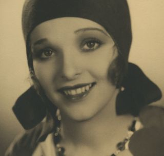 Vintage 1920s Alice White Large Format Beauty Photograph Silent Film