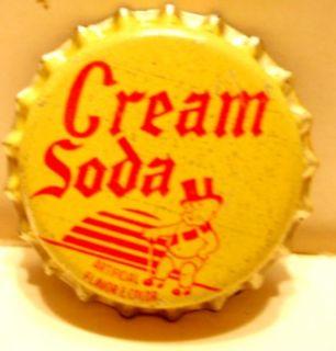 Duke Cream Soda Cork Bottle Cap Duke Beverage Co. Alton, Ill.