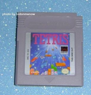Shiny Label Tetris Nintendo Game Boy Original Gameboy Color GBC