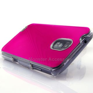 Pink Aluminum Hard Case Cover for Samsung Galaxy S2 Epic 4G Touch D710