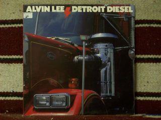 Alvin Lee Detroit Diesel 90517 VG VG Cond Very Nice w Song Lyric Sheet