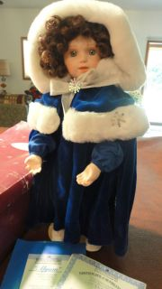 1994 ASHTON DRAKE GALLERIES ALYSON PORCELAIN DOLL SEASON OF DREAMS