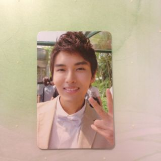 Super Junior Ryeowook Bonamana Ver. B Photocard