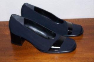 Altra Marea Altramarea Italian Pumps Sz 7 37 Heels Shoes Black Womens
