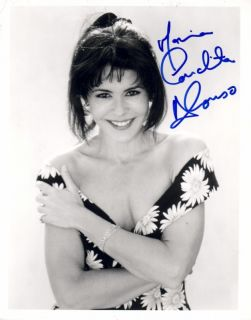 Maria Conchita Alonso Signed Younger Busty Super Smile