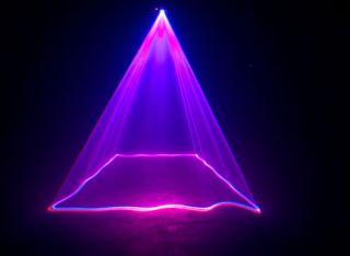American DJ Ruby Royal Red/Blue/Magenta DMX Laser Lighting Effect