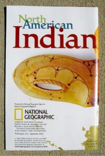 Geographic Map September 2004 North American Indian Cultures