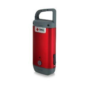 New American Red Cross Cell Phone Charger with Hand Crank LED