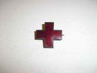 Vintage WWII American Red Cross Pin